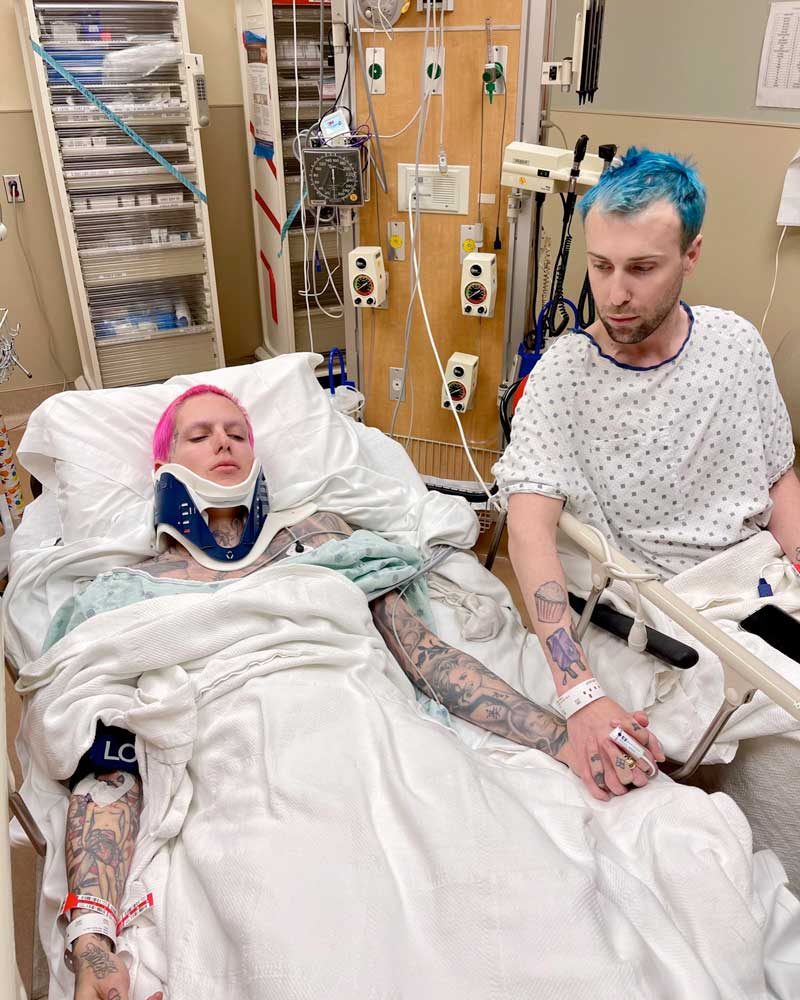 Jeffree Star hospitalizado por accidente de coche