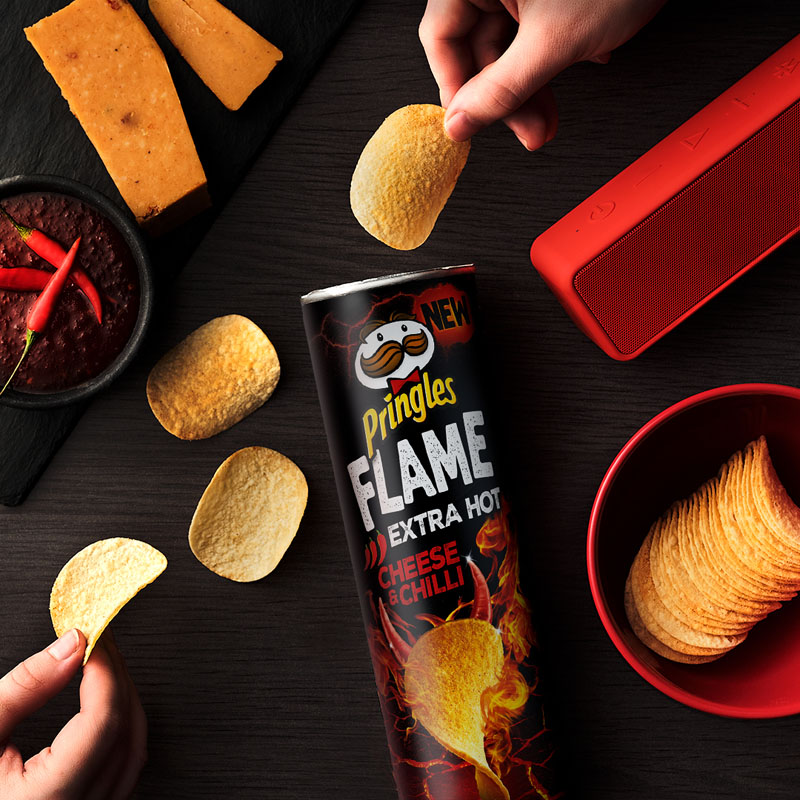 Pringles Flame: ponle picante a los sabores tradicionales