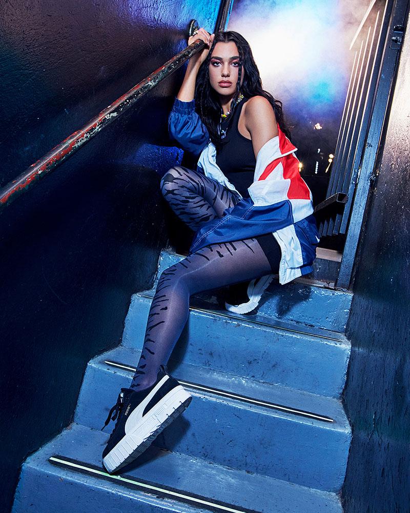 Adictos a las nuevas zapatillas de Dua Lipa: Puma Mayze