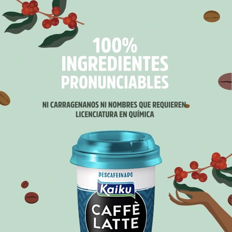 Kaiku Caffè Latte: café vegano para los coffee lovers