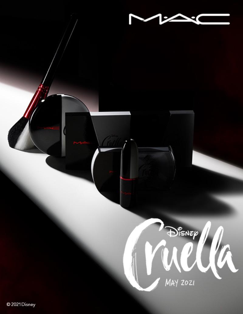 Mac x Disney: la colección de maquillaje de Cruella de Vil