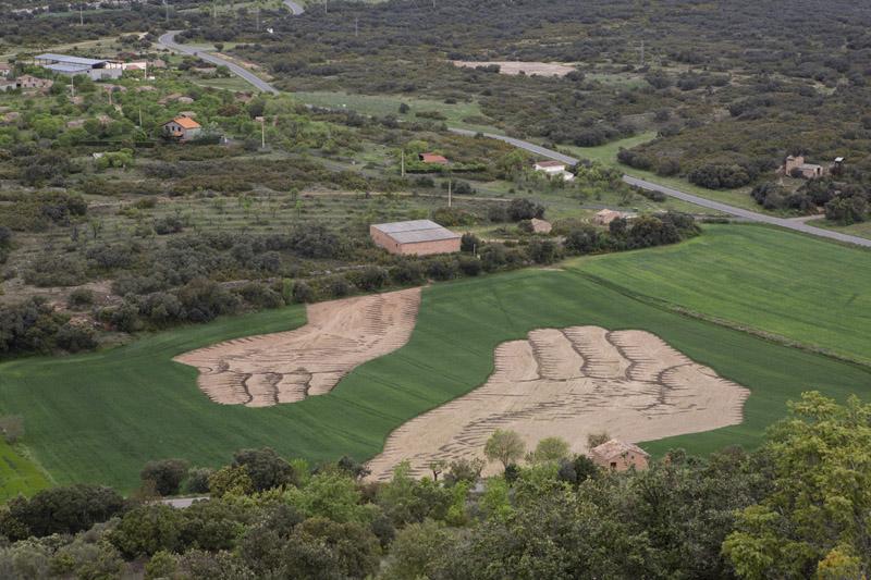 Nutrir la estima - Land Art en Estopiñán del Castillo