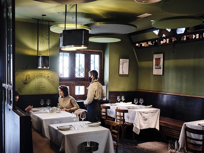 Osteria Il Colombo, pasta veneciana y vinos naturales