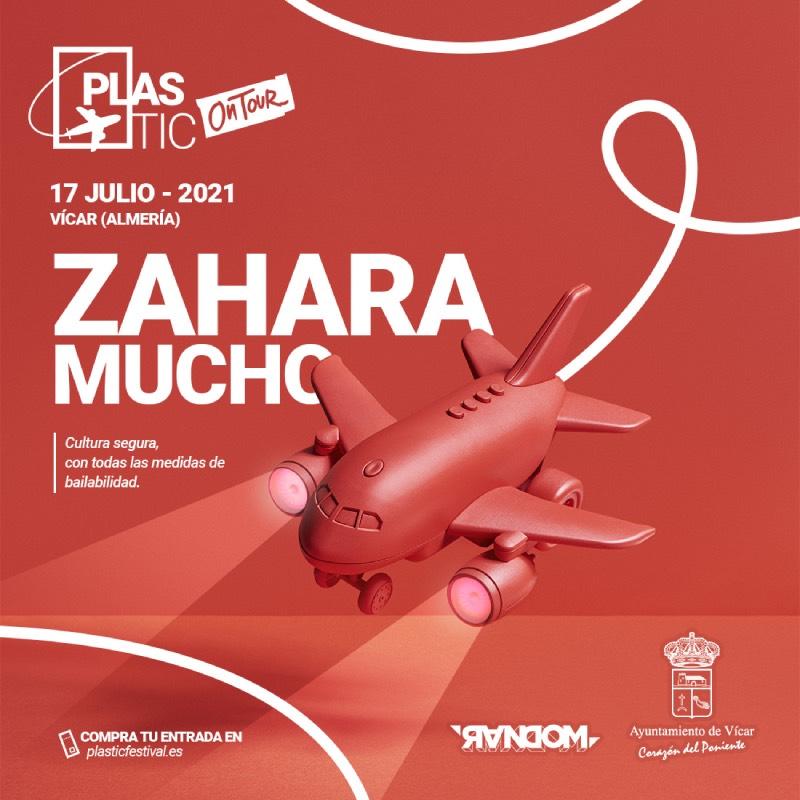 Zahara y Mucho en concierto para Plastic On Tour 2021