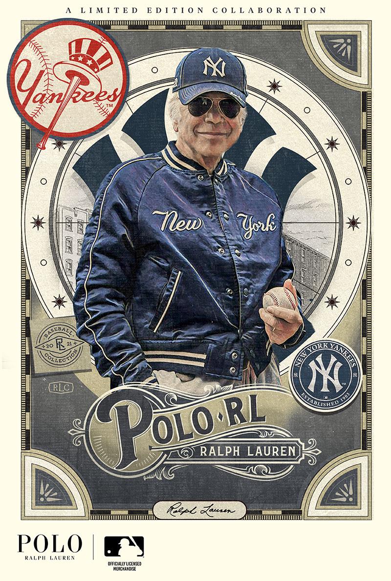 Ralph Lauren se asocia con la Major League Baseball