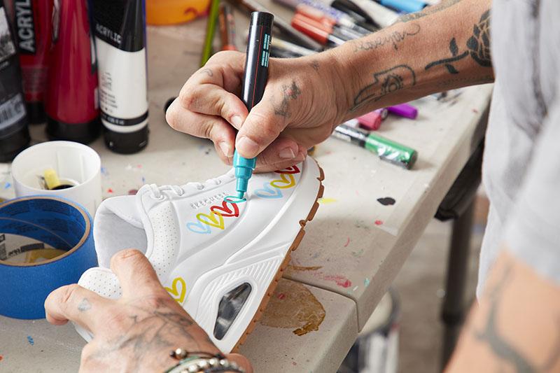 Skechers x JGoldcrown actualizan su colaboración