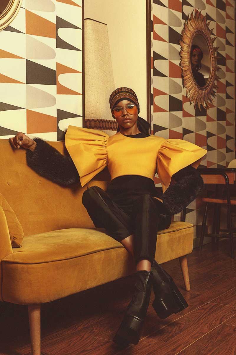 Fotografía de Moda 70s por Héctor Amaro