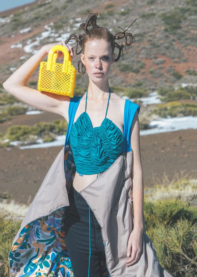 Fotografía de Moda en Tenerife con El Teide como decorado