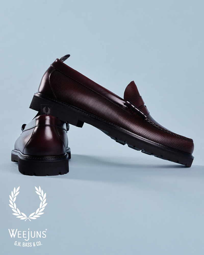 El renacer del loafer x Fred Perry y G.H. Bass & Co.