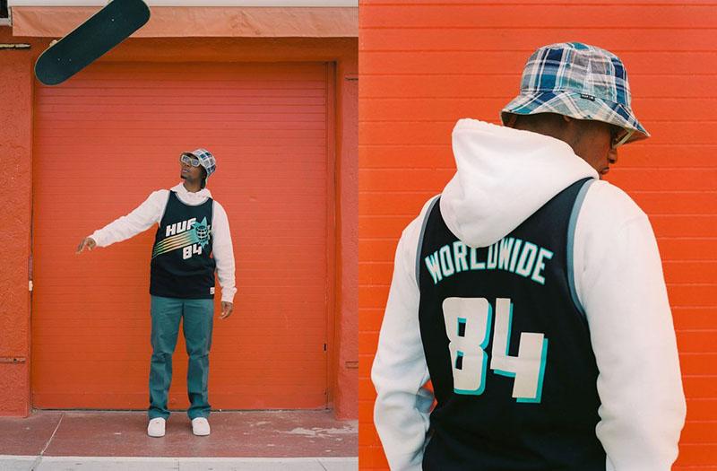 Vuelve el streetwear playero de la mano de HUF Summer 2021