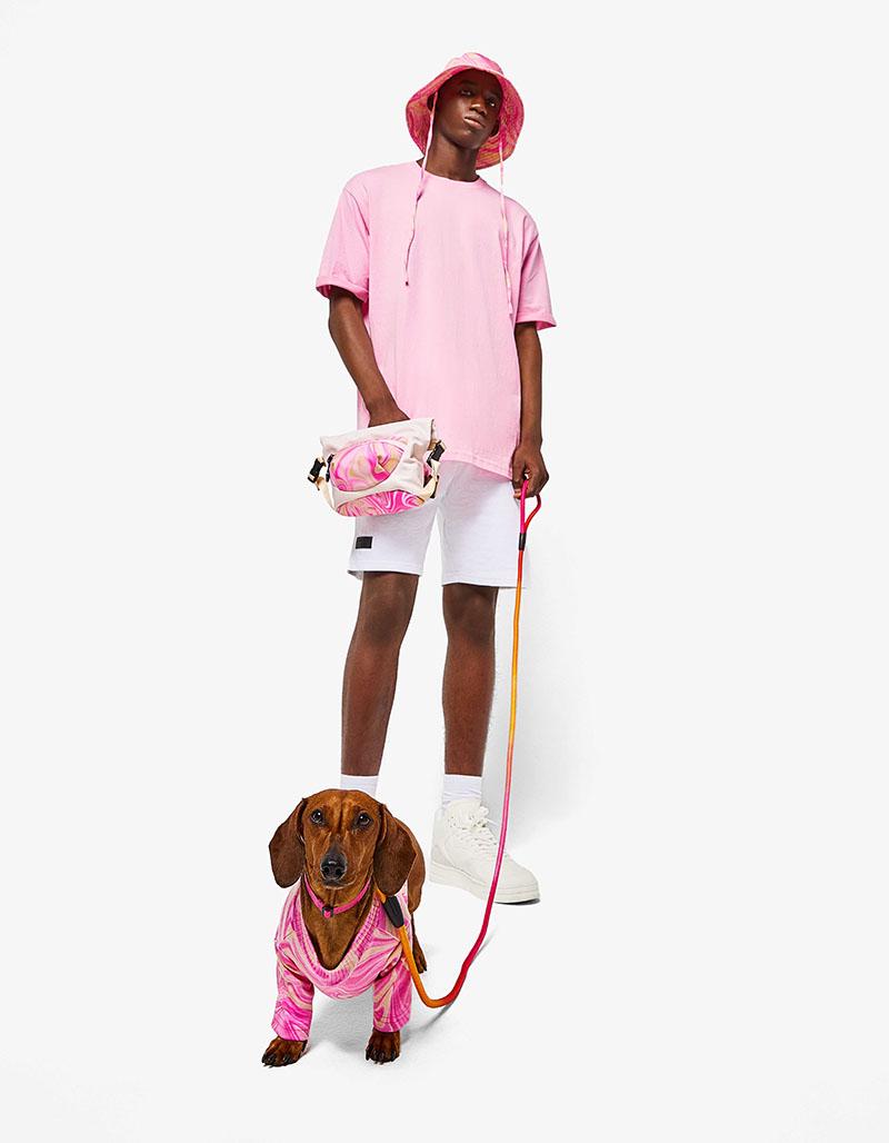 Viste igual que tu perro con los looks twinning de Bershka