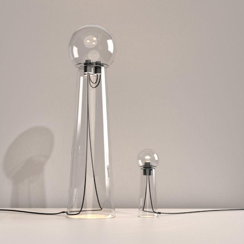 Gigi, la sensualidad de una lámpara de vidrio
