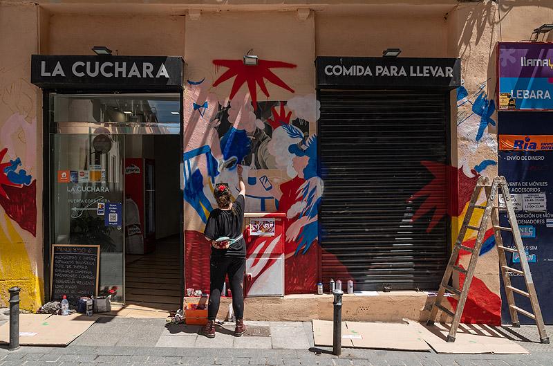 Libertad Ballester gana el premio Alhambra CALLE 2021