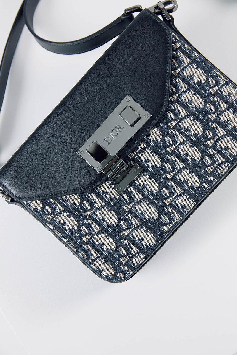 Asegura tu estilo con el nuevo bolso para hombre Dior Lock