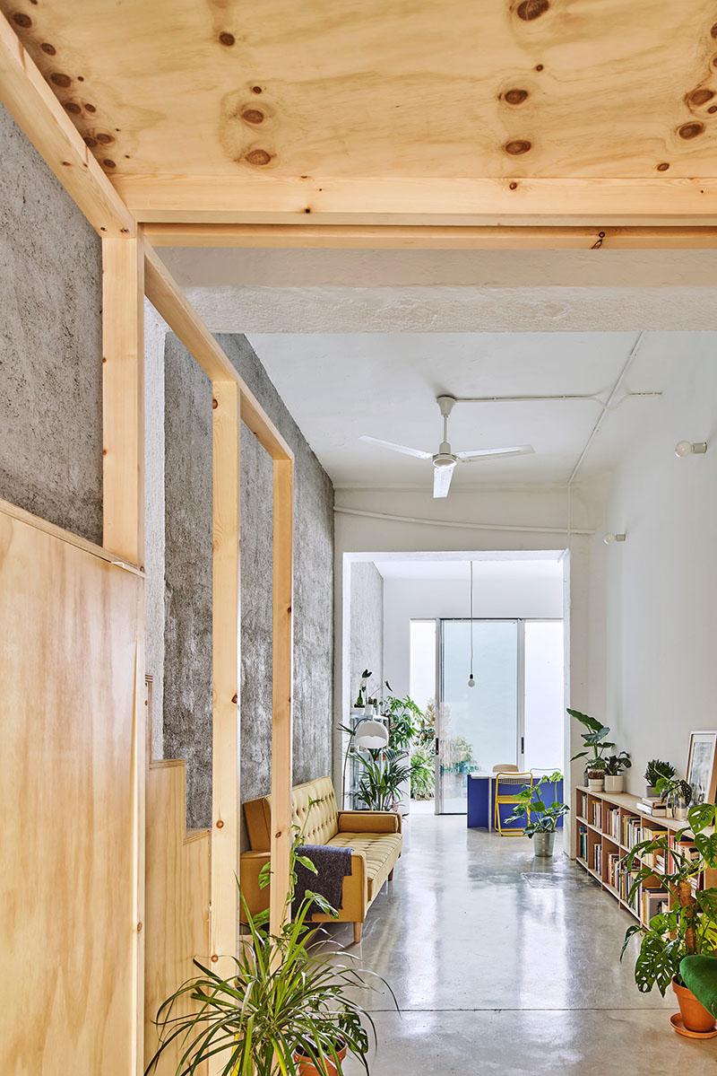 BURR convierte un antiguo local en dos viviendas flexibles
