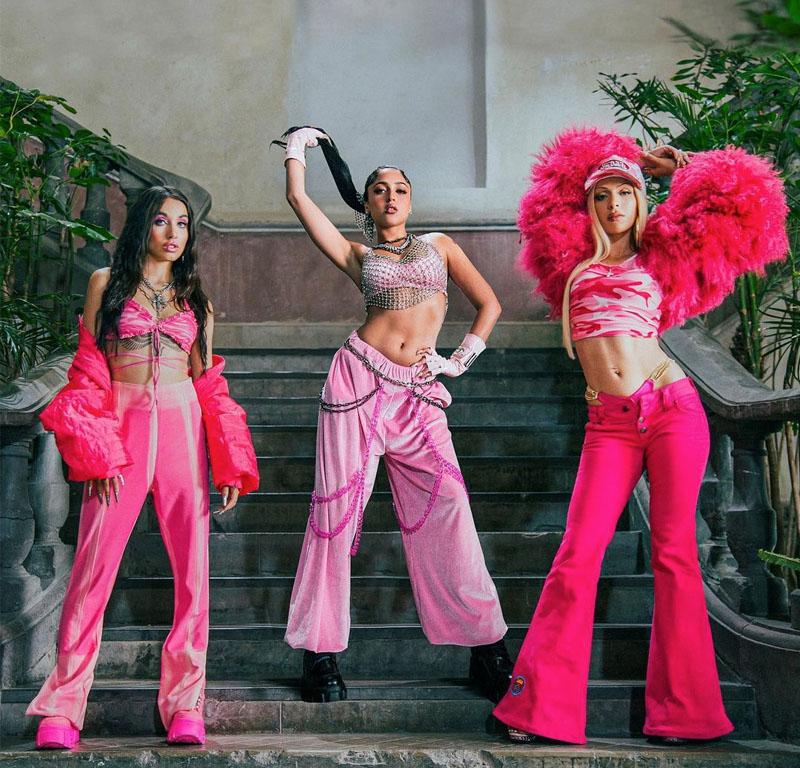 Bad Gyal, Mariah Angeliq y María Becerra juntas en BOBO