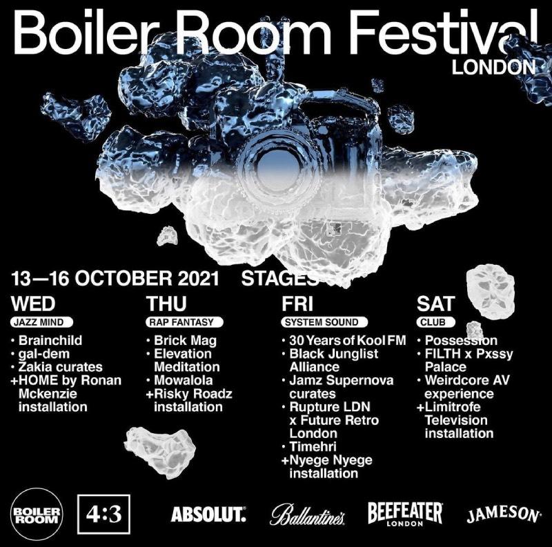 Boiler Room Festival 2021: Londres, Nueva York y Barcelona
