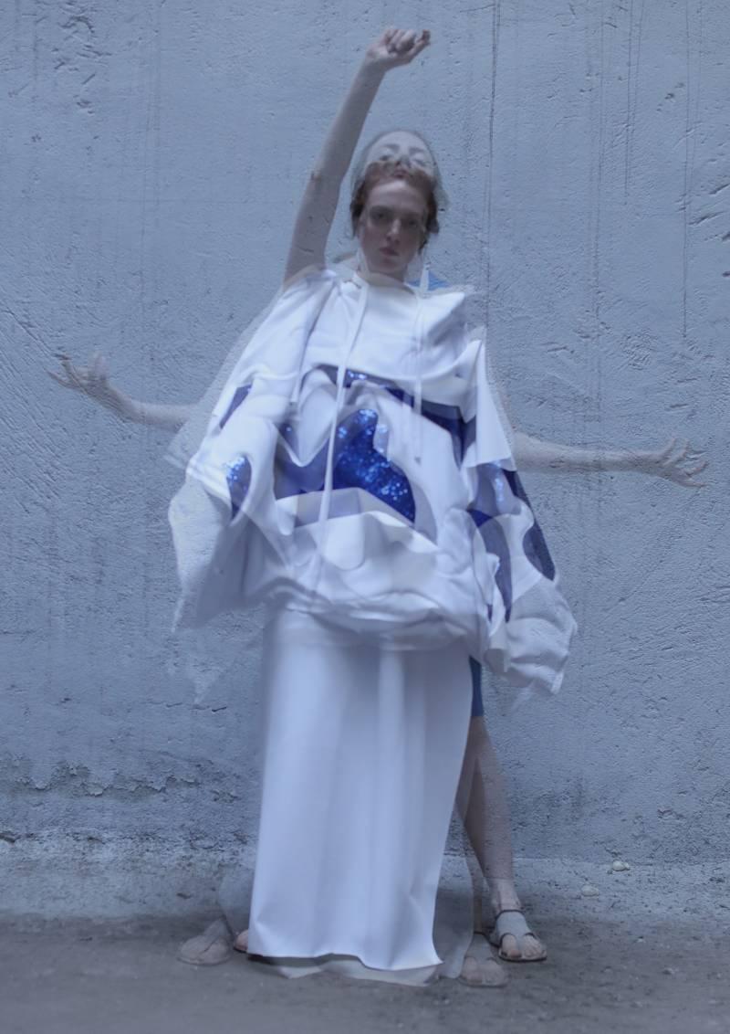 Carmen Emanuela Popa SS22 en London Fashion Week