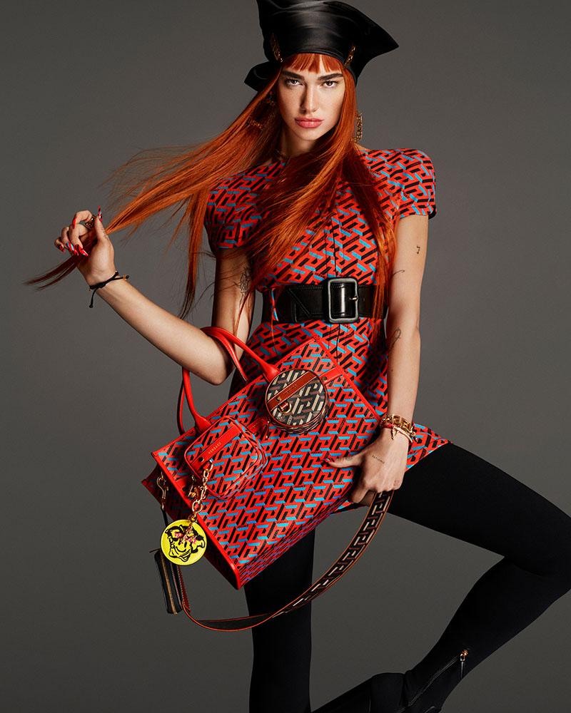 Dua Lipa nueva imagen de Versace FW21
