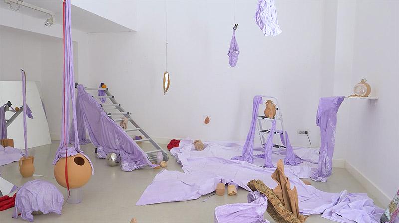 La mancha de María Jerez en Twin Gallery