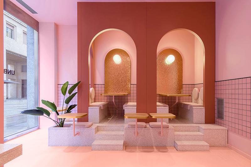 El nuevo restaurante Bun de Masquespacio en Turín