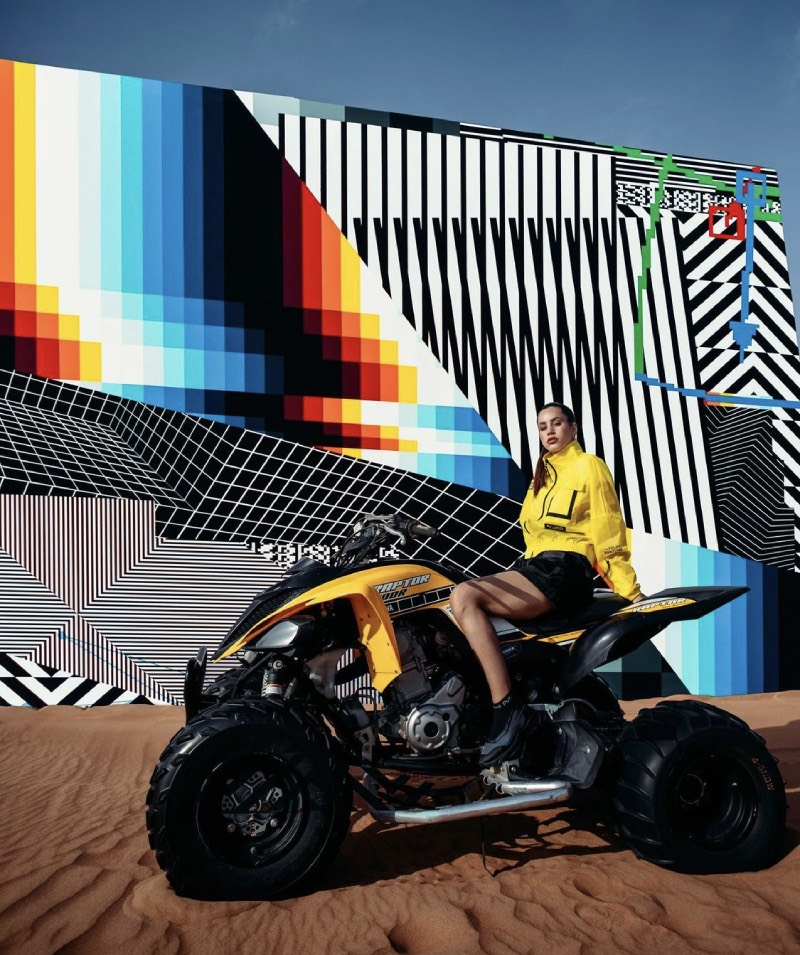 Puma x Felipe Pantone: sportwear, arte y tecnología