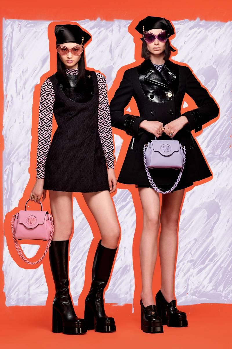 Versace Resort 2022: Psicodelia retro y diversión