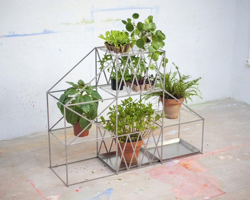 Vivero: invernadero modular para tu huerto en casa