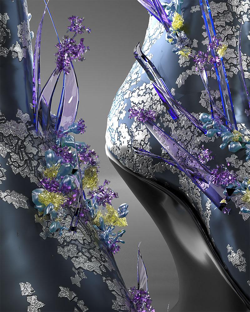 El debut de Auroboros en London Fashion Week: Biomimicry