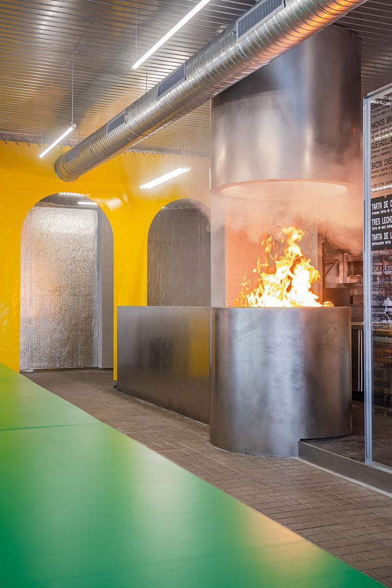 Brutal Burrito: La modernidad en Madrid es un buen rollo