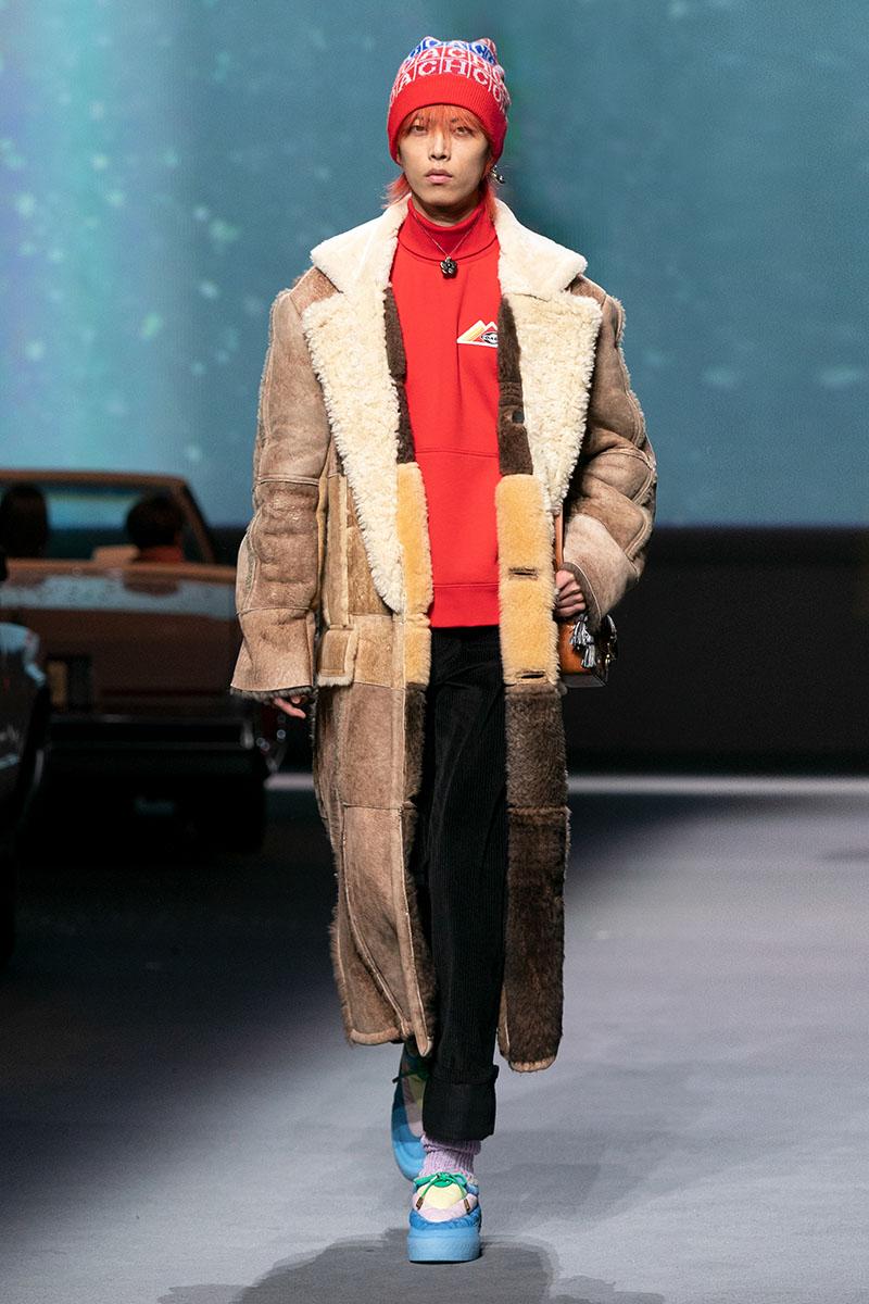 La primera colección de Coach Winter 21/22 en Shanghái