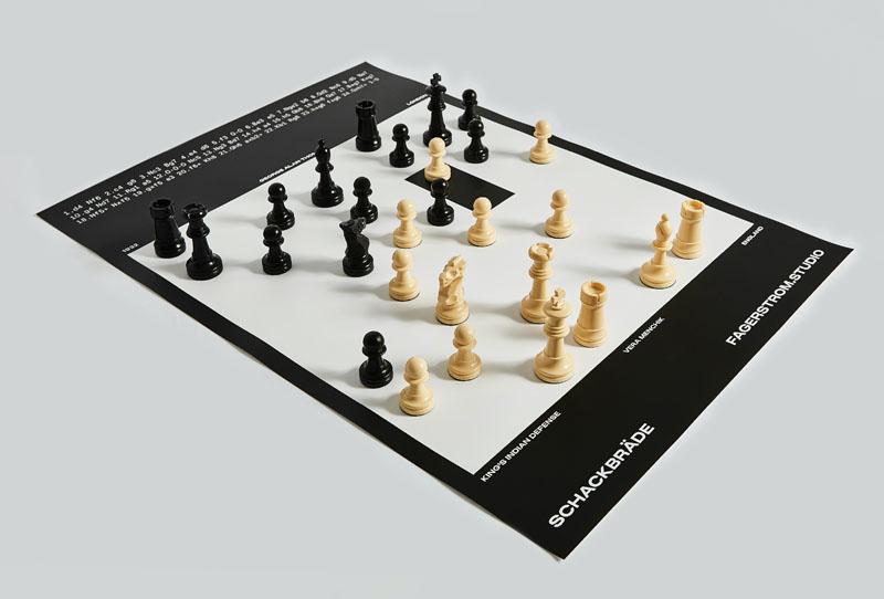 Fagerström o  cómo unir el diseño gráfico con el ajedrez