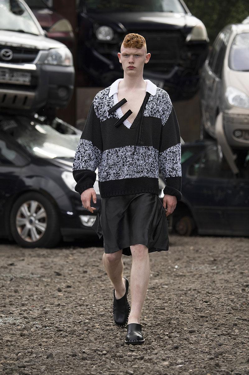 Jordanluca SS22 en London Fashion Week