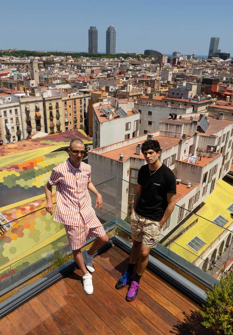Alex Nikolov y Alex Moli, Orgullo por el talento Lexa