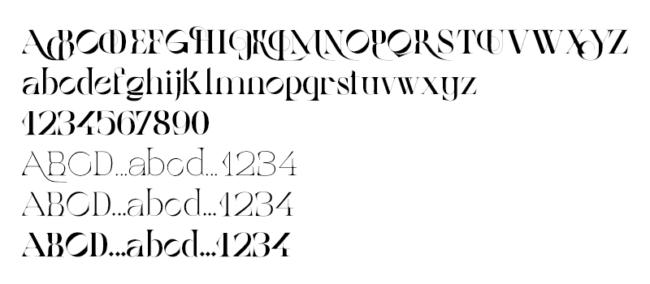 Tipografía gratuita Belle de Mai: una fuente muy romántica
