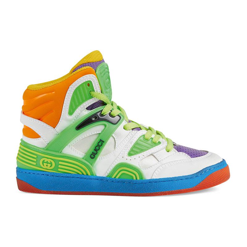 Apúntate 3 puntos con las zapatillas Gucci Basket