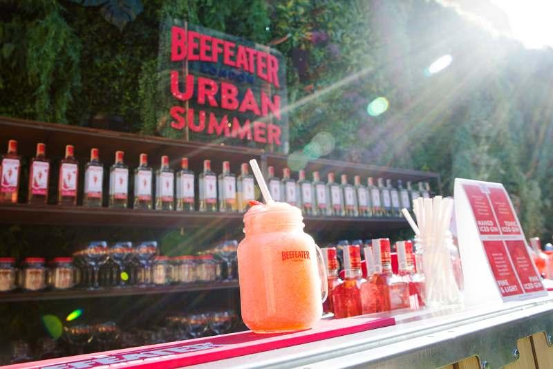 Beefeater salva el verano en Madrid con gardens londinenses