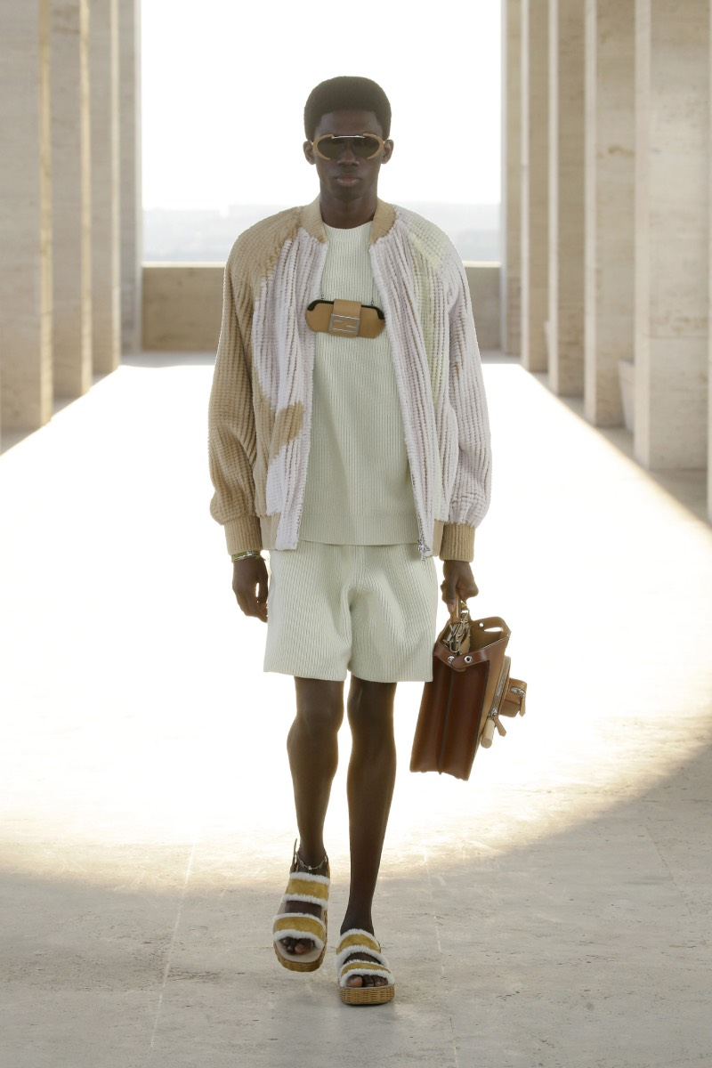 Fendi SS22 Menswear: un sueño y una oda a Roma