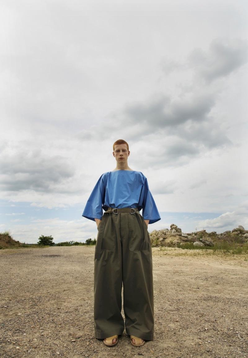 Hed Mayner SS22 en Paris Fashion Week