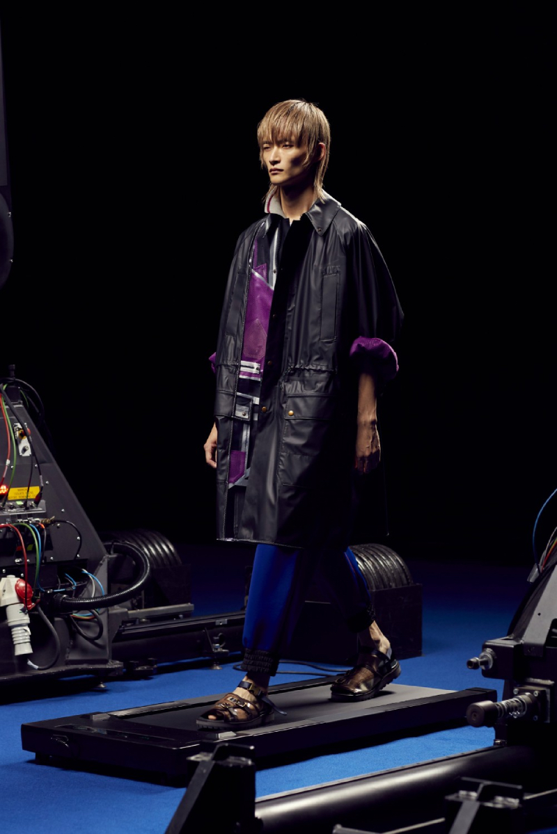 Kolor SS22 en Paris Fashion Week