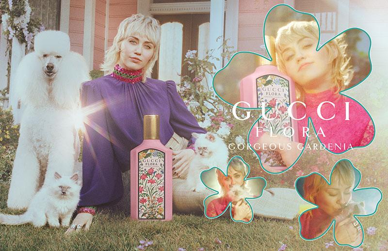 ¿A qué huele Miley Cyrus? Gucci Flora Gorgeous Gardenia