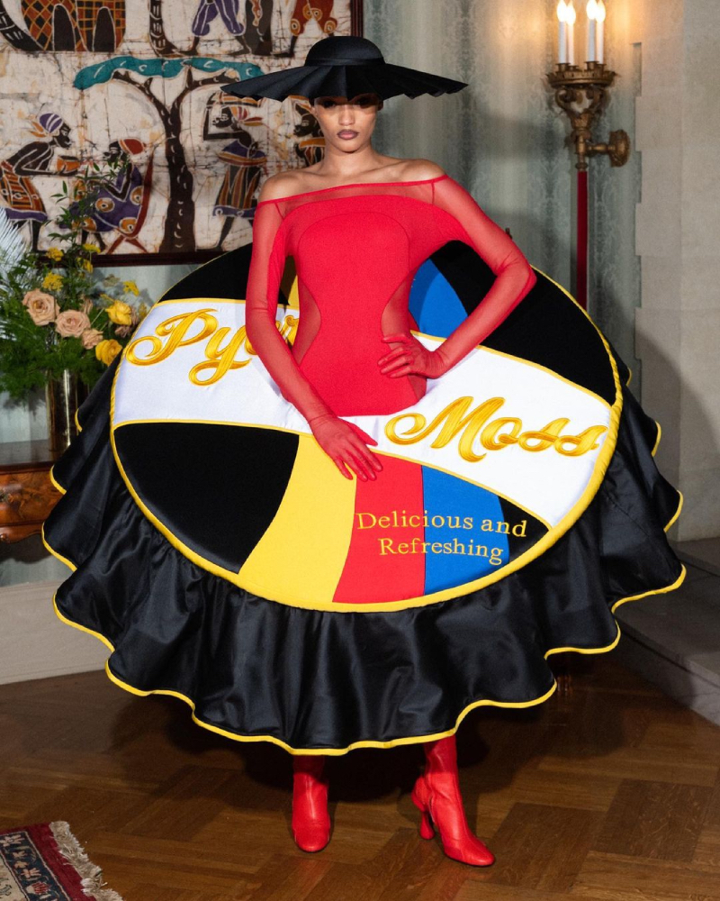 Pyer Moss Alta Costura FW21 en Haute Couture Week Paris