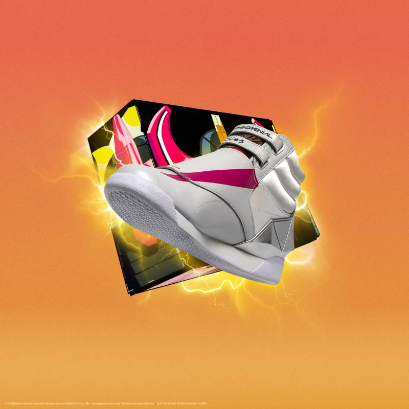 Reebok x Power Rangers, el nuevo sneaker remake