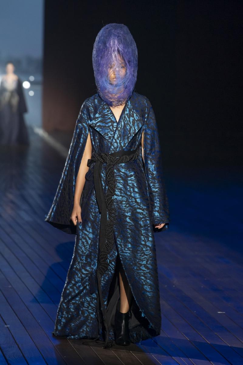 Yuima Nakazato Haute Couture FW21: Evoke