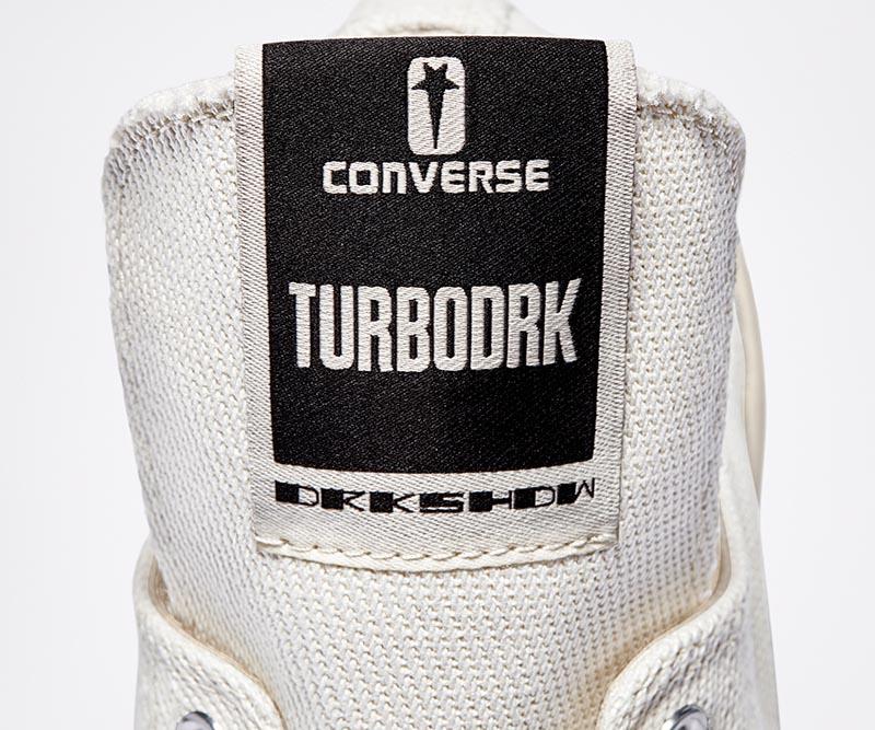 Converse y Rick Owens colaboran en TurboDrk