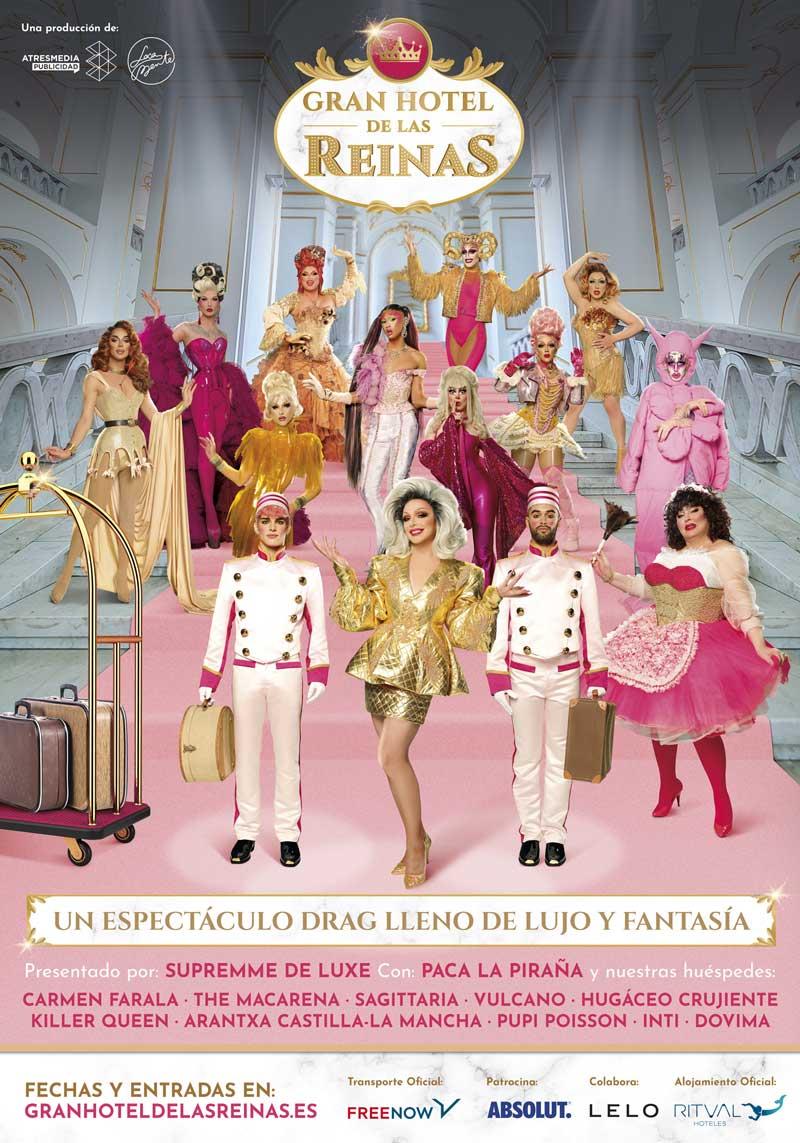El tour de Drag Race España con el Gran Hotel de las Reinas