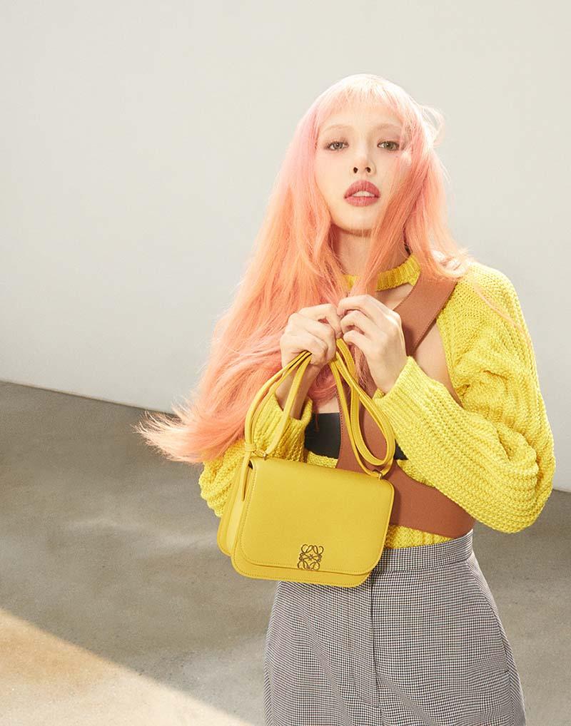 HyunA es la cantante coreana que ha enamorado a Loewe