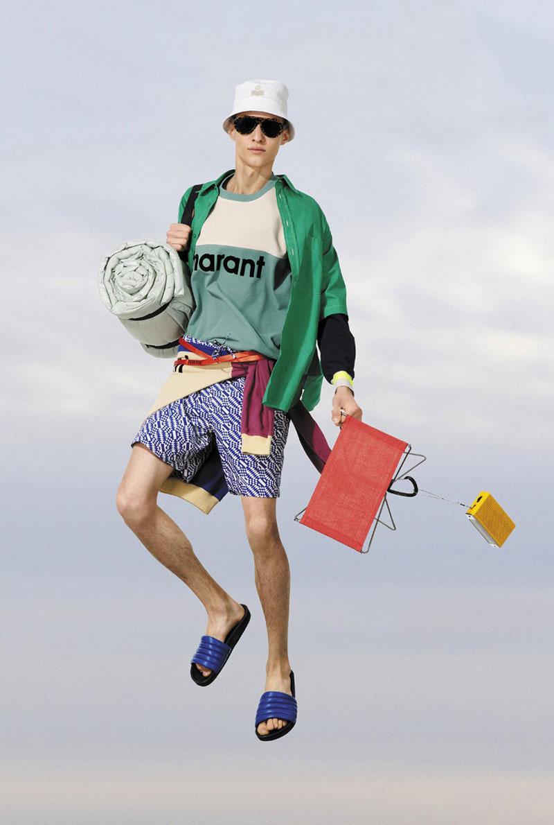 Isabel Marant SS22 Men's en Paris Fashion Week