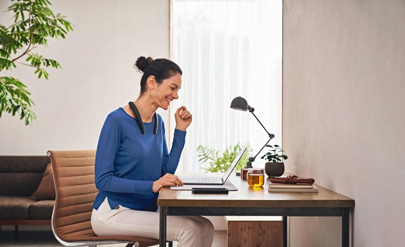 Neckband de Sony: La práctica idea para trabajar en casa