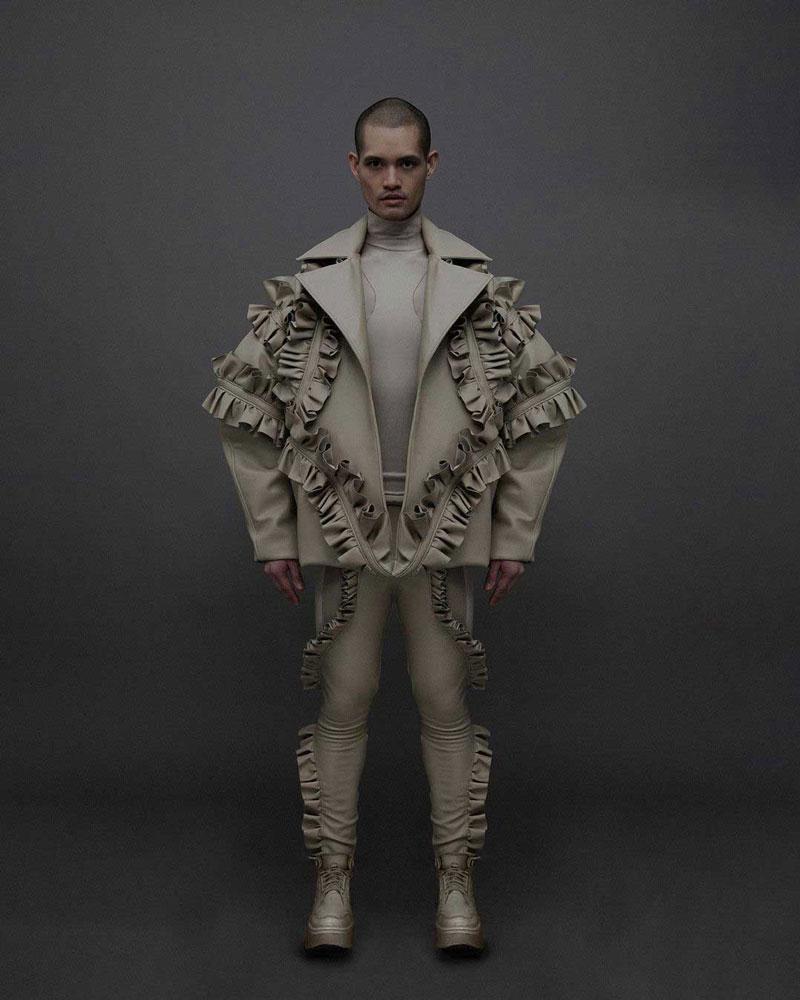 Ralf Wileman, moda masculina para hombres no binarios